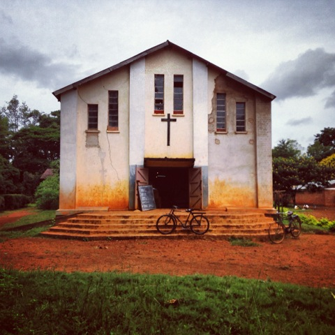 Instagram of a Catholic church during Sunday morning service in Kabanga, Tanzania.  Photo © 2013 Stephanie Sinclair / VII